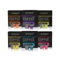 120 Bestpresso Nespresso Compatible Gourmet Coffee Capsules *** Variety Pack ***