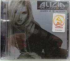 ALICIA VILLARREAL - CUANDO EL CORAZON SE CRUZA (2004 BRAND NEW CD)