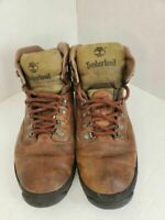 Timberland Mens Hiking Trail Boots Brown Leather Lace Up 14 M