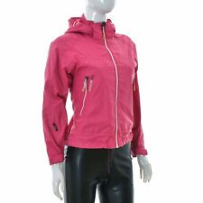 Didriksons 1913 Storm System Women Hooded Jacket OUTDOOR Size 140 Pink Genuine