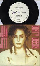 "JOAN JETT  Rare 1990 Aust Only 7"" OOP EMI Hard Rock P/C Single ""Dirty Deeds"""
