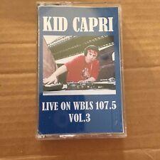 DJ Kid Capri Live on WBLS 107.5 FM Tape #3 NYC CASSETTE NYC MIXTAPE Rare Mix