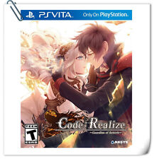 PSV Code:Realize Guardian of Rebirth Japanese SONY VITA Adventure Aksys Games
