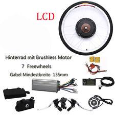 LCD E-bike Conversion Kit 26'' Zoll Umbausatz Heckmotor 36V 800W für Hinterrad