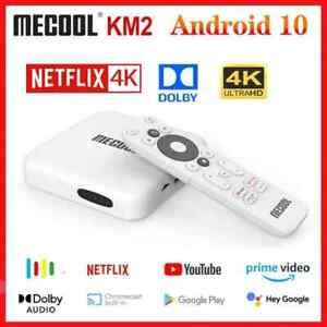 Mecool KM2 Netflix & Google Official ATV10 Quad-Core S905X2-B 2GB DDR4 + 8GB ROM