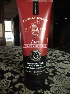 Bath and Body Works Aromatherapy LOVE JASMINE SANDALWOOD Moisturizing Body Wash