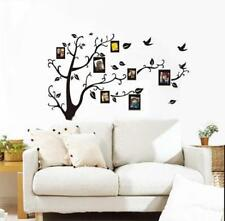 Home Decor Tree Bird Photo Frame Family Memory Wall Stickers Removable Decal S