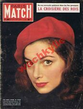 Paris Match n°284 du 04/09/1954 Islam Mecque Arabie Saoudite Mikado japon