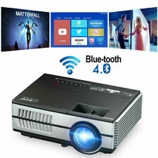 New ListingPortable Home Theatre Projectors 1080P WiFi Blue-tooth for Movies Birthday Gift