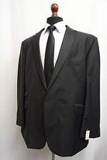 Men's Alexandre LONDON noir fines rayures costume 42R W44 L31 SS9844