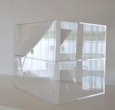 Bäckerei Sammler Tisch Vitrine Verkaufstheke Spuckschutz Standregal Acryl Glas G