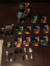 Lot of Star Wars Collectibles Toys, Comics, Magazines, Collectible Holograms