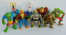 Vintage 1990's TMNT Teenage Mutant Ninja Turtles Figure Lot Ace Traag Metalhead