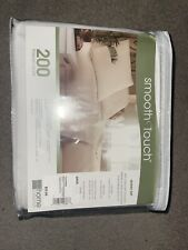 Smooth Touch 200 Thread Count Queen Size Sheet Set
