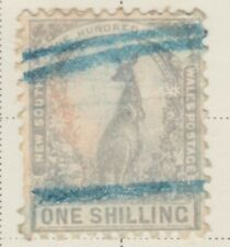 Australia New South Wales 1905-10 1s Fine Used Color Changeling A13P29F645