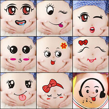 Pregnant WOMEN Belly Stickers Baby Shower Photops Reveal Party Decoration 5x PAP