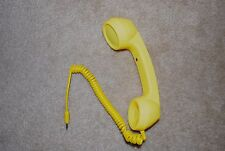 Yellow Radiation Proof Retro Mic Cell Phone Handset for Mobile Phone 3.5mm