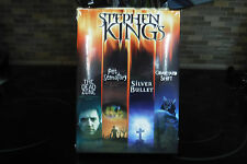 STEPHEN KING COLLECTOR EDITION 4DVDs(DEAD ZONE/pet sematary/GRAVEYARD SHIFT/ETC)
