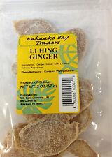 Li Hing Ginger 2 oz. (4pack), Kakaako Bay Traders