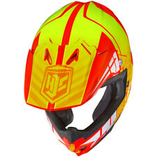 HJC CL-X7 Motocross Helmet - Cross-Up Orange & Yellow - Size: LRG - SHIPS FREE