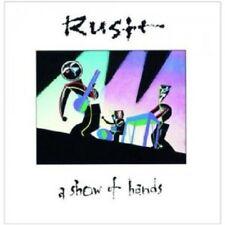 RUSH - A SHOW OF HANDS  CD  15 TRACKS PROGRESSIVE ROCK / ART ROCK LIVE  NEU