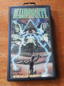 Illuminati 1st Edition - Classic Pocketbox game by Steve Jackson Games (1982)