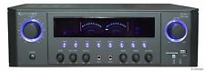 1000W DJ PROFESSIONAL HOME AUDIO DIGITAL STEREO 2 CHANNEL POWER AMP AMPLIFIER FM