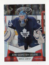 10-11 CERTIFIED JEAN-SEBASTIEN GIGUERE #136 MIRROR RED #142/250