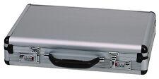 """18"""" Aluminum Briefcase Hard Side Portfolio Attache Case Combination Lock New"""