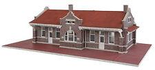 4055 Walthers Cornerstone Mission Style Brick Station / Depot HO Scale