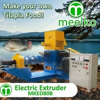ELECTRIC EXTRUDER TO MAKE YOUR OWN TILAPIA FISH FOOD - MKED080B (FREE SHIPPING)