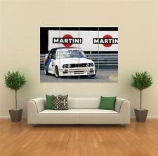 BMW M3 allemand touring car sport rally GIANT ART PRINT POSTER mur G1315