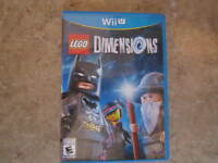 LEGO Dimensions (Nintendo Wii U, 2015) Complete, Game Only