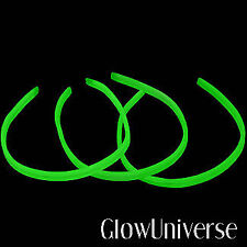 "NEW 75 22"" Glow Necklaces TWISTER Light Sticks GREEN"