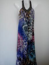 NICE SUMMER HOLIDAY WOMENS LADIES MAXI LONG DRESS SIZE 10