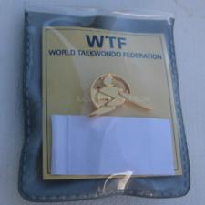 2017 World Taekwondo Federation Gold Pin #1