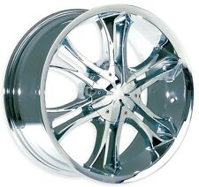 "Brand New MK-24 wheel 20"" Chrome SUV 6x139.7 (Set of 4)"