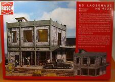 Busch 9724 Bausatz: US  Lagerhaus H0