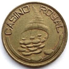 US, CASINO ROYAL Slot Machine Token 25.65mm 6.4g Brass II8.2