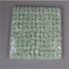 144Pcs Atificial Flowers Mini Foam Roses with stem Wedding Bouquet Home Decor
