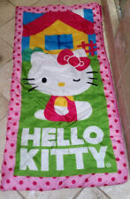 Hello Kitty Pink Sleepover/Indoor Sleeping Bag w Backpack
