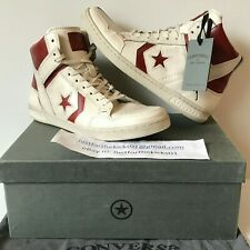 9d9eae48464a CONVERSE JOHN VARVATOS WEAPON MID TURTLEDOVE RED 132825C SIZE 9