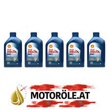 5x1 Liter Shell Helix HX7 10W-40 Motoröl, ACEA A3/B4 - VW 502 00/ 505 00