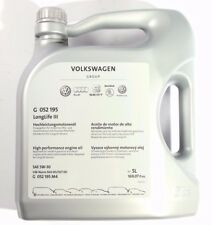 Original VW Audi Seat Motoröl 5W30 504 00 507 00 LongLife3 5 Liter G052195M4