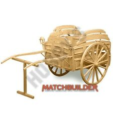 Lait flotteur cheval dessiné victorienne Matchstick Modèle Kit Hobby's MATCHBUILDER