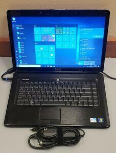 "Dell INSPIRON 1545 15.6"" Pentium DUAL-CORE 2.10GHz 4GB RAM 250GB HDD WIFI WIN 10"
