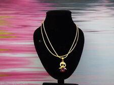 Modeschmuck-Halsketten & -Anhänger aus Gelbgold mit Gemischte Themen für Damen
