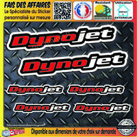 6 Stickers autocollant Dynojet performance planche sponsor tuning decal carénage