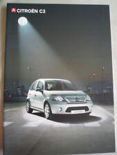 Citroen C3 range brochure Nov 2006