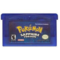 Pokemon: Sapphire Version (Game Boy Advance, 2003)
